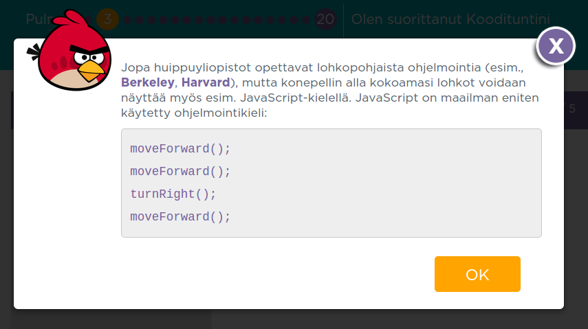 code.org koodituloste