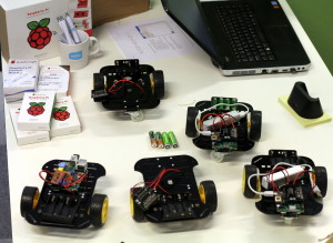 Building Code.org robots for Koodikerho's (code clubs) in Finland